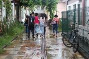 O grupo de estudantes da Escola Municipal Paracatu de Baixo conhece o ICSA